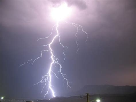 Crazy Fork Lightning and Thunder Storm in Southern England