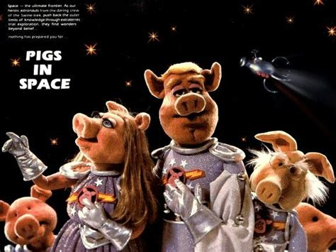 Pigs in Space was part of The Muppet Show(画像あり)