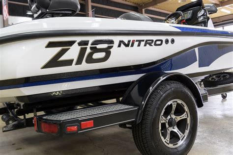 2016 NITRO Z18 MERCURY 150 PROXS [SOLD OUT!] | バスボート販売|ALPHA