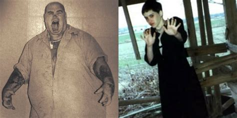 15 Spine-Chilling Photos Of Serial Killers And Their