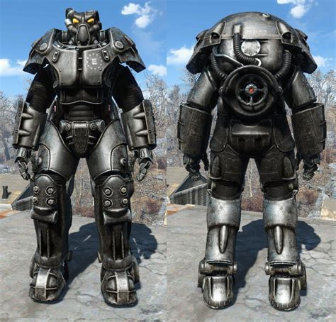 X-01 Enclave Power Armor Paints - Standalone with added Glow Maps モデル