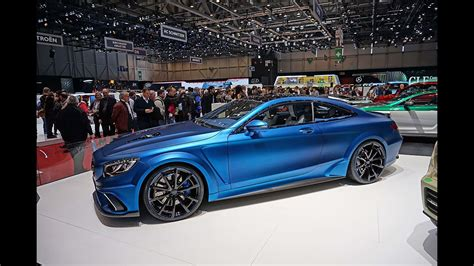 Mercedes S Class Coupé tuned by Mansory - Geneva Motor