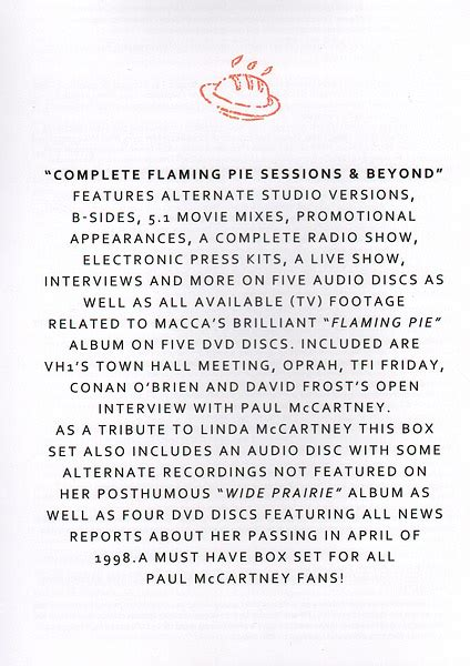Complete Flaming Pie - Sessions & Beyond (1997-1998