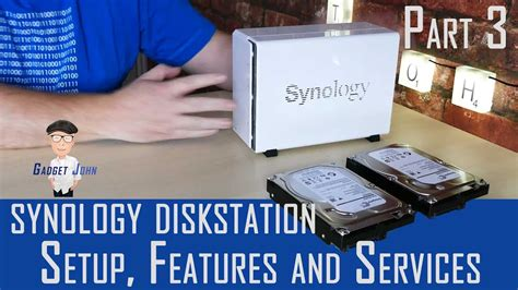 Synology DiskStation Software Setup and Features - Pt3